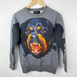 Givenchy Rottweiler Intarsia Sweatshirt